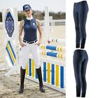 Equi-Theme Ladies Men Unisex Thermic Thermal Water Resistant Knee Patch Breeches