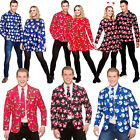 Mens Ladies Christmas Fancy Dress Hawaiian Hawaii Shirt Xmas Party Holiday New