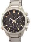 Used[ab] Watch Men Casio Edifice Eqb-500d-1a2jf Quartz Black K9w