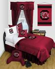 South Carolina Gamecocks Comforter Sham Curtains Valance Twin Full Queen LR