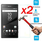 2PC 9H Premium Tempered Glass Screen Protector Film Guard For Sony Xperia Z3 Z5