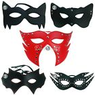 HALLOWEEN LEATHER CAT EYE MASK MASQUERADE STUNNING PROM VENETIAN FANCY DRESSES