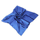 "Elegant Large Silk Feel Solid Color Satin Square Scarf Wrap 36"" - Diff Colors"