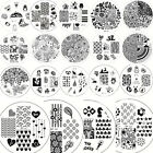Nail Art Manicure Stamping Image Plate Stamp Design Template Stencil BORN PRETTY