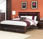 PARKER SOLID TIMBER BED FRAME - KING QUEEN DOUBLE KING SINGLE, SINGLE AVAILABLE