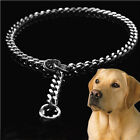 Stainless Steel Snake P Chock Chain Dog Show Training Collar Metal Necklace Rope