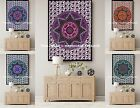 Mandala Star Tapestry Indian Hippie Wall Hanging Bohemian Beach Throw Dorm Decor