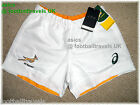 XXL 3XL ASICS SOUTH AFRICA SPRINGBOKS RUGBY PLAYERS MATCH SHORTS ORIGINAL