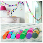 Paper Garland Strings Circle Wedding Party 1PCS Baby Shower Hanging Decoration00