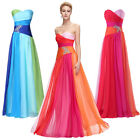 Size 20-26 Long Cocktail Evening Bridesmaid Dress Formal Party Ball Prom Gowns