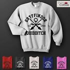 Harry Potter Gryffindor Quidditch Inspired Hoodie All Sizes Colours Gift Unisex