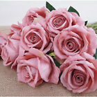 1PC Artificial Fake Rose Flannel Flower Bridal Bouquet Wedding Party Home Decor