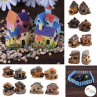 DIY Mini Fairy Garden Miniature House Fence Craft Micro Landscape Decor Gift