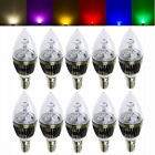 10x Dimmable E12(Candelabra) 110V 6W 8W 10W High Power LED Chandelier Light Bulb
