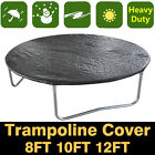 8FT 10FT 12FT Trampoline Universal Rain Dust Cover Weather Protection Guard UK
