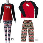 Christmas Family Clothes Printing Leisure Wear Pajamas Sleepwear Xmas Reindeer