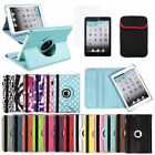 Rotating Smart Cover PU Leather Case Stand For Apple iPad Mini 1/2/3 with Retina