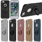 New Hard Phone Cover Case Skin With Ring Stand Holder For iPhone 7/6/6S Plus Hot