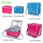 Yodo 6/12/24CAN Lunch Bag Portable Insulated Soft Sided Cooler Box Outing Picnic