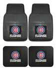 Chicago Cubs Car Mats World Series 2016 Championship 4 Pc Front & Rear