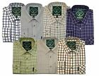 Country Classics NEW Mens Long Sleeve Quality Check Shirt Shooting Fishing S-5XL