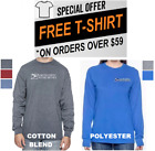 Внешний вид - Unisex USPS Postal Post Office Long Sleeve Tee Tshirt Gildan Cotton by PCA Etc