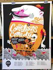 COMEDIANS OF COMEDY CONCERT POSTER by Little Friends of Printmaking edn of 200