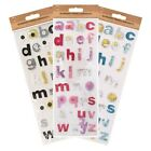 Self Adhesive - Stick On Alphabet Embellishments - Art  & Crafts Card Scrap Book