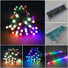 US Ship WS2811 RGB LED Pixel Diffused Full Color Round Green Black 5V 12V IP68