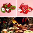 1Pc Christmas Stocking Santa Claus Hanging Gift Bag Decoration Party Ornament LD