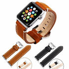 Premium Vintage Genuine Leather iWatch Wrist Watch Band Strap For Apple Watch