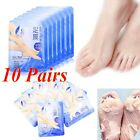 10 Pairs Exfoliating Peel Foot Masks Baby Soft Feet Remove Callus Hard Dead Skin