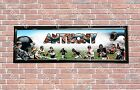 Personalized Customized Chicago Bears Name Poster Sport Banner with Frame Set $37.0 USD on eBay