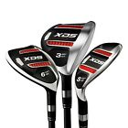 Acer XDS Hybrid Ironwood sets of 3,4,5,6,7 clubs; Choose set; graphite, Hd Cover