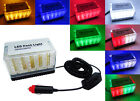 12V 48 LED Light Bar Roof Magnetic Emergency Hazard Warning Flash Strobe Lamp