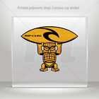 Decal Stickers Tiki Surfer Rip Curl Atv Bike polymeric vinyl Garage mtv ZK326