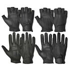 DRESSING FASHION REAL LEATHER SOFT PADDED PALM RIDING DRIVING RETRO STYLE GLOVES