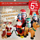 Inflatable Christmas Xmas Decoration Light With Built-in Pump Air Blown Power