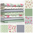 ASCOT & ROSEBUD ROSES - BUNDLE FQ or METRE with coordinating dots, plains etc