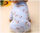 Warm Dog Jumpsuit Pet Clothes Coat pajamas for chihuahua teacup yorkie maltese