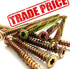 NEXT DAY TRADE PRICE CONCRETE DOOR WINDOW FRAME FIXING CONCRETE SCREWS 14 SIZES
