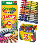 24/64/24Jumbo Crayola Crayons Assorted Colours Colouring Wax Crayons Art Drawing