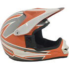 Raptor MX Off Road Helmet Black/Orange Youth Sizes