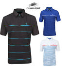 Cypress Point Performance Striped Cool Pass T- Shirt Large Mens Golf  SRP £29.99