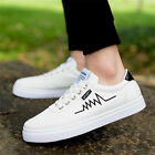 Fashion Men's Casual Canvas Shoes Leather Pumps Sport Trainers Driving Moccasins