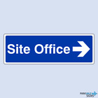 Site Office Arrow Right Sign