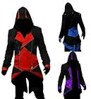 Hot  Cool Stylish Coat  Hoodie Men's Cosplay For Assassins  Coat Costume Fashion