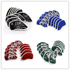 Golf Iron Covers Zippered Club Headcovers For Cleveland Mizuno PING White Black