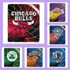 NBA Licensed Reflect Sherpa Afghan Throw Blanket - Choose Your Team
