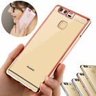 Hot ! Luxury ShockProof Silicone Rubber Clear Case Cover For HuaWei Models